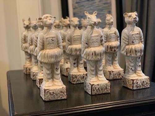 My Twelve Zodiac Statues