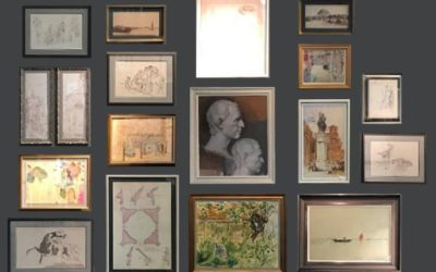 How to do a collage of wall art